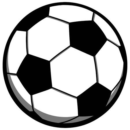 soccer: Soccer Ball Illustration