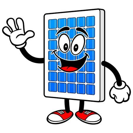 흔들리는 태양 전지 패널