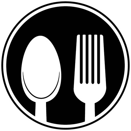 tablespoon: Spoon and Fork Symbol