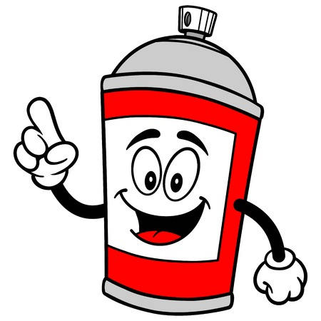paint can: Spray Can Talking