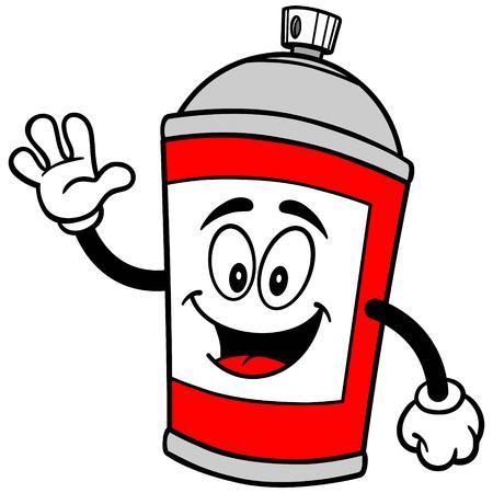 spray can: Spray Can Waving
