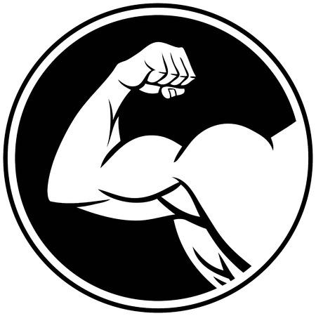 強い腕のシンボル