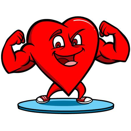 strong: Strong Heart Illustration