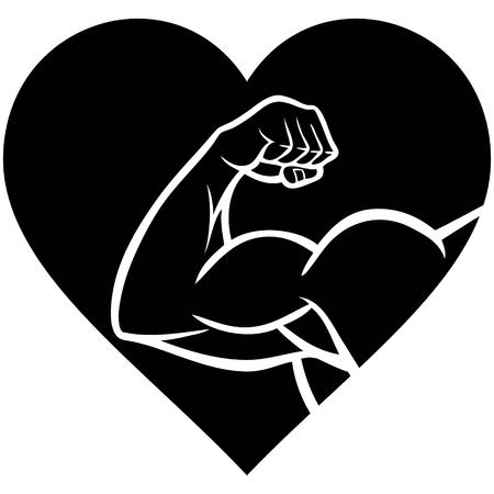 pumped: Strong Heart Symbol