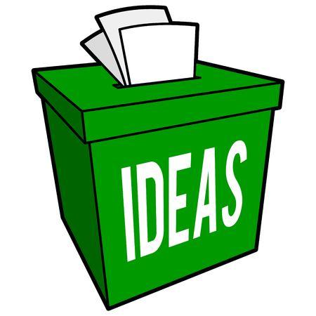 suggestion: Suggestion Box Illustration