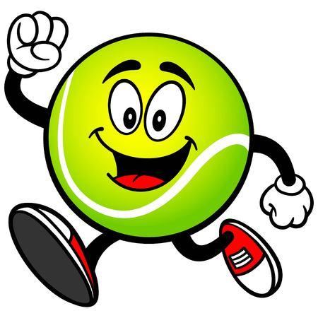 テニス ボール ランニング