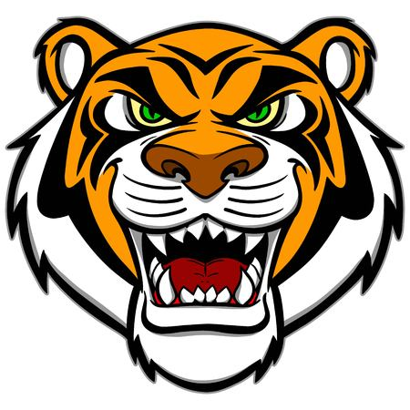 bengal: Tiger Mascot Illustration
