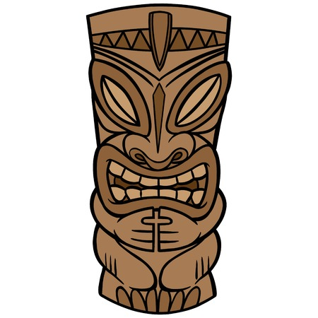 Tiki Stock Vector - 57935481