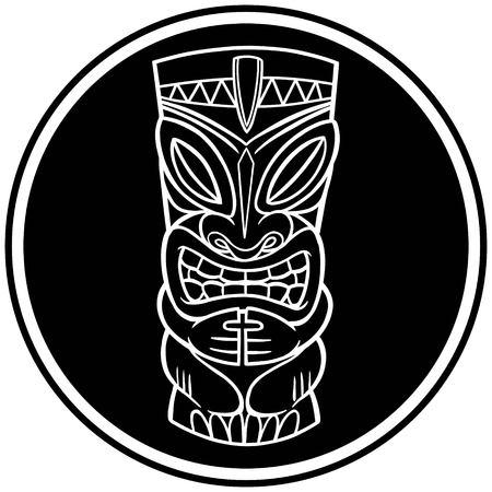 ティキのシンボル  イラスト・ベクター素材
