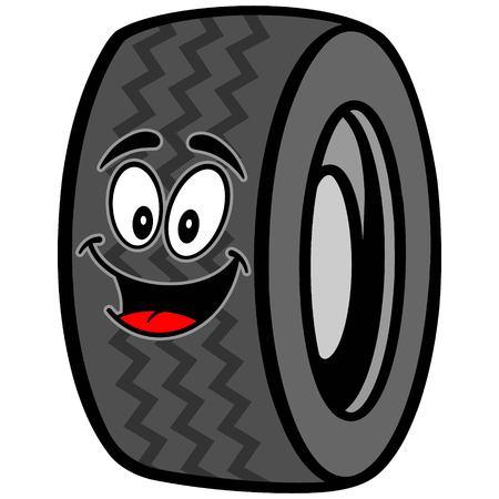 motorized: Tire Mascot