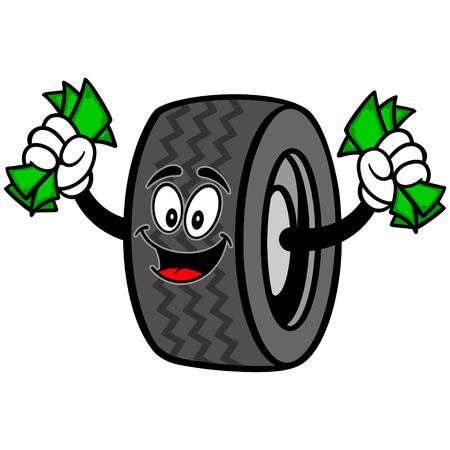 Tire with Money