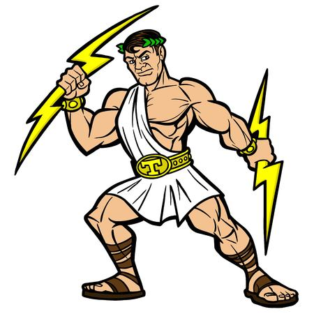 244 Greek God Zeus Stock Illustrations, Cliparts And Royalty Free ...