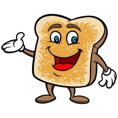 cartoon: Toast Cartoon