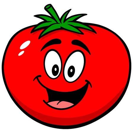 Tomaat Mascot Stockfoto - 57935699