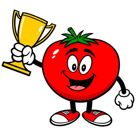 Tomato with Trophy