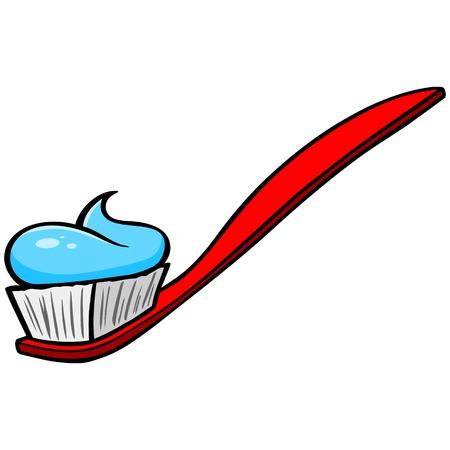 gingivitis: Toothbrush with Paste