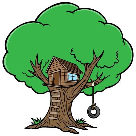 back yard: Tree House