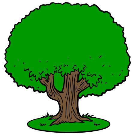 Icône de l'arbre Banque d'images - 57935838