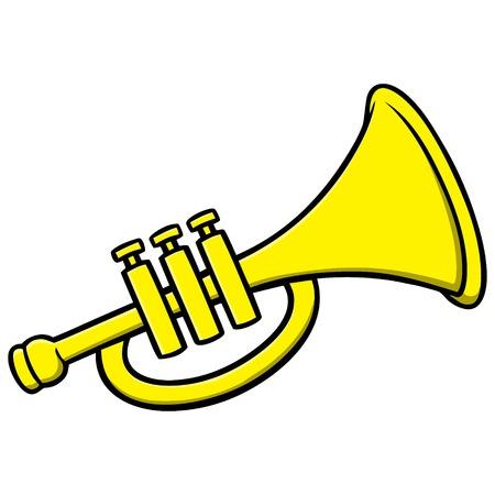 Trompete  Standard-Bild - 57935849