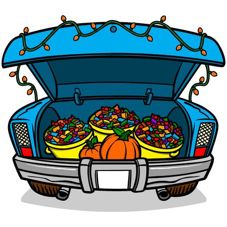 206 trunk or treat cliparts stock vector and royalty free trunk or rh 123rf com trunk or treat clipart images trunk or treat clip art for church bulletin