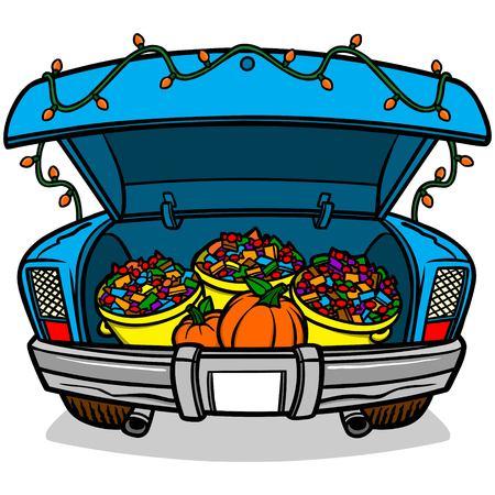 treats: Tronco o de la invitación