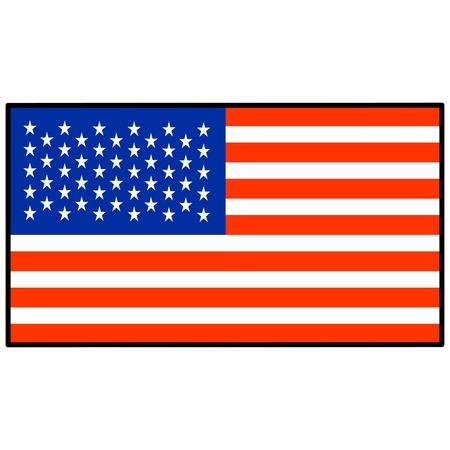 star spangled: United States Flag