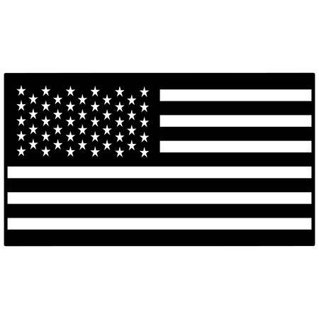 spangled: United States Flag Illustration