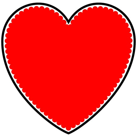 Valentine Sweetie Heart Ilustração