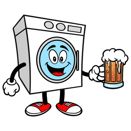 brew house: Washer with a Beer