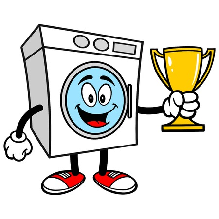 Washer with a Trophy