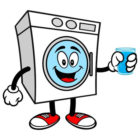 Washer with a Cup of Water
