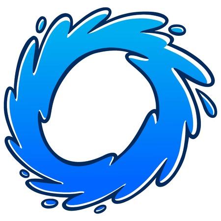 bucle: Loop agua