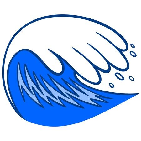 Water Wave Illustration