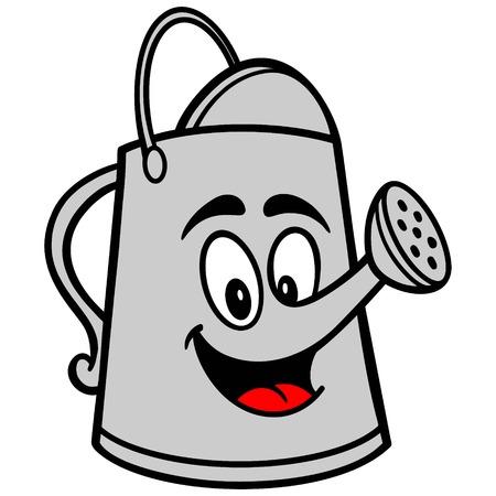 Watering Can Cartoon Ilustracja