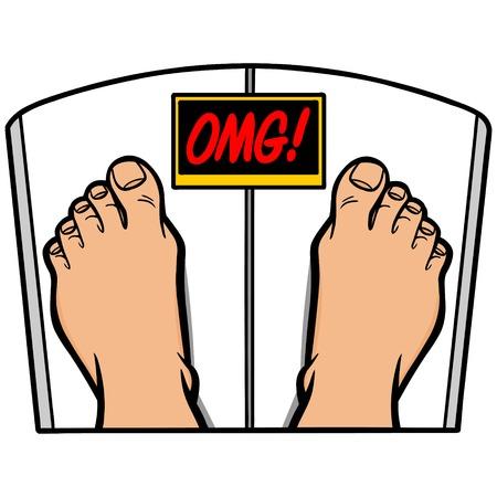 Weight Loss OMG 일러스트