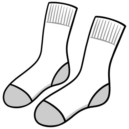 hosiery: White Socks