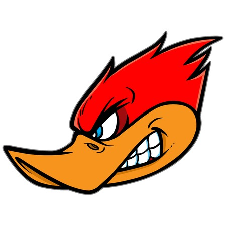 Woodpecker Mascot