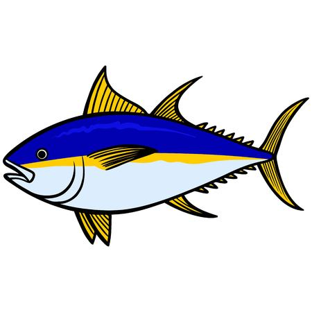126 Yellow Fin Tuna Stock Illustrations, Cliparts And Royalty Free ...