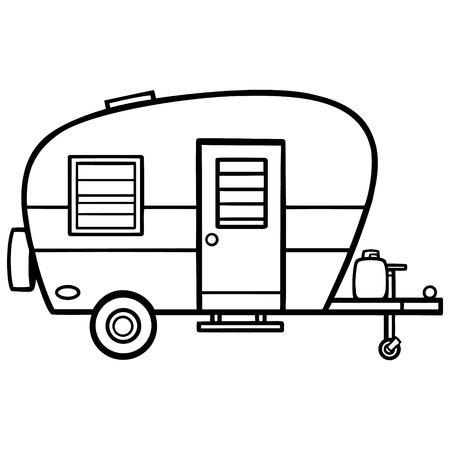 Camper Ilustracja