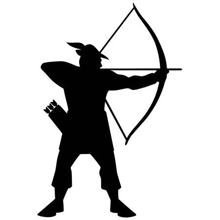 Archer Icon Illustration