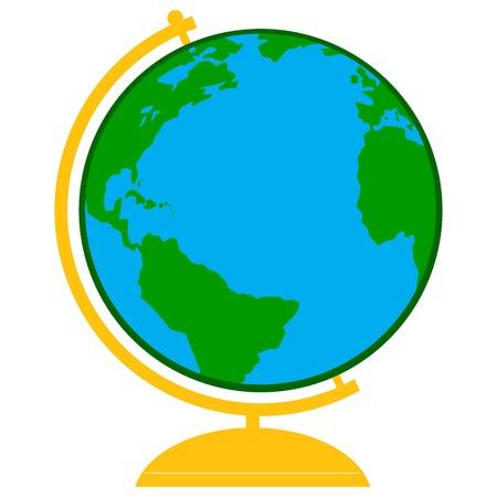 school: School Globe