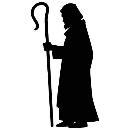 Joseph with Shepherds Hook