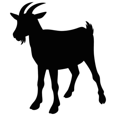 Goat Icon Vettoriali