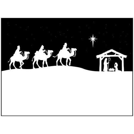 Nativity Abstract Ilustracja