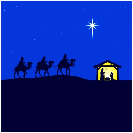 Nativity Scene Stock Vector - 63119267