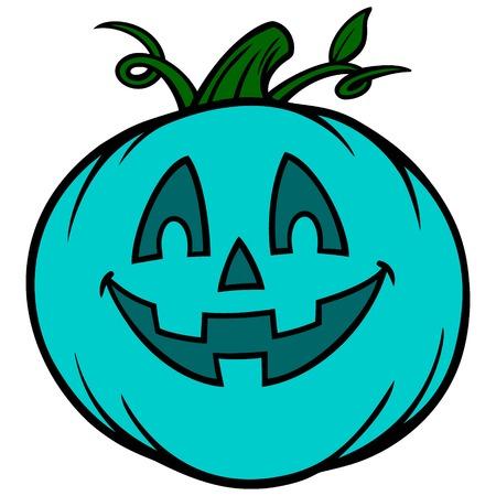 Lebensmittel-Allergie-Jack-O-Lantern Vektorgrafik