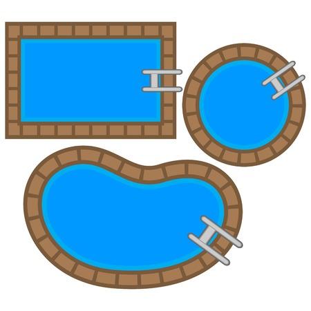hot tub: Swimming Pool Tops