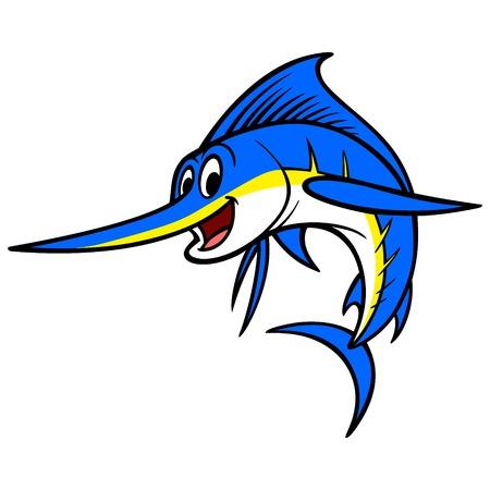 bluefish: Swordfish Cartoon