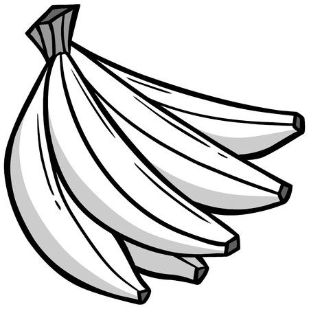 bunch: Banana Bunch illustration