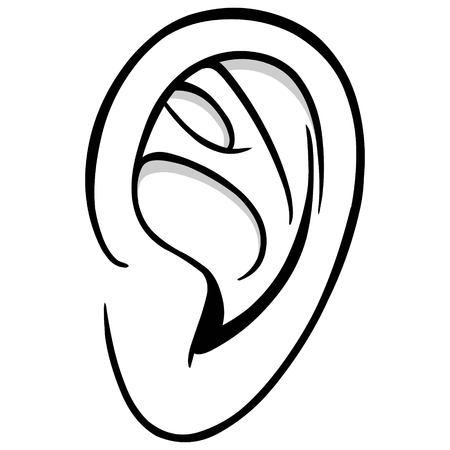 耳の図 写真素材 - 71619196